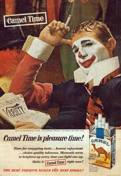 Camel Time… now for clowns…