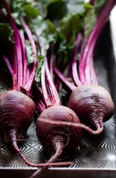 Fresh beets- seriously my new favorite vegetable. So delicious and full of vitamin C. Yum!!