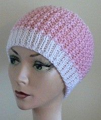 If you know anyone going through Chemo, these hats are great to make in any color.