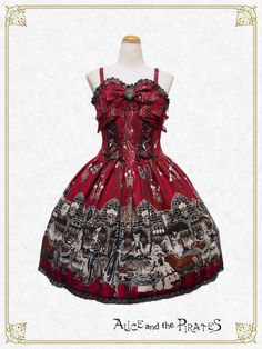 Alice and the Pirates Rosy night's Masquerade jumper skirt Ⅰ