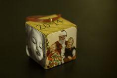 DIY Photo Block Ornaments   Simply Real Moms