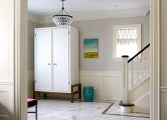 coat closet armoire Entry Modern with armoire bench entrance floor