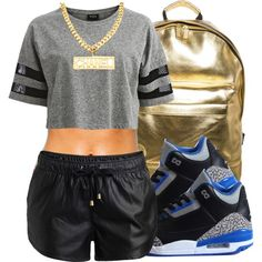 Untitled #111, created by trillest-fashionx on Polyvore