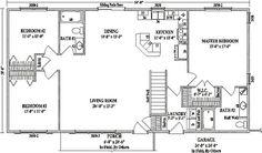 Ranch Floor Plans Open Concept | Mankato II By Wardcraft Homes Ranch  Floorplan