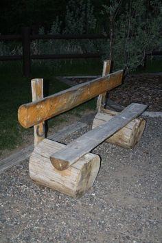Treestump Bench