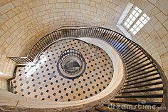Escalera Suntuosa Del Faro Fotografía de archivo libre de regalías - Imagen: 3173337