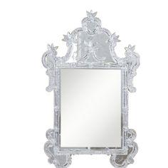 "Elegant Lighting MR-1001S Mirror 30.5"" x 1.8"" x 47.8"" H Silver, Murano Collection"