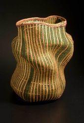 Polly Adams Sutton-Portfolio Japanese Bamboo, Weaving Art, Sculpture, Baskets, Artists, Bags, Handbags, Hampers, Sculptures