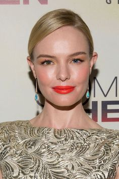 Kate Bosworth at the 2015 Atlanta premiere of '90 Minutes in Heaven'. http://beautyeditor.ca/2015/09/08/best-beauty-looks-kate-bosworth