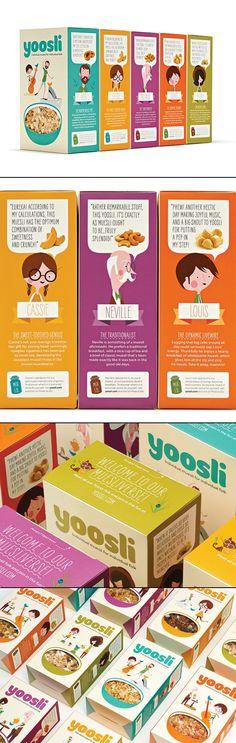 Yoosli muesli #packaging