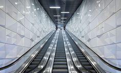 nueva línea de metro de Düsseldorf desafía el arte y la arquitectura | Papel pintado*