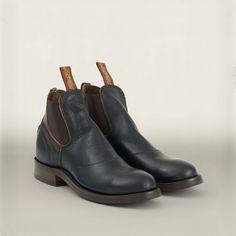 Leather Congress Work Boot - Boots  Shoes - RalphLauren.com
