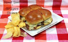 Roast Beef & Gruyere Sliders