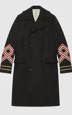 Embroidered coat, £2,030, Gucci