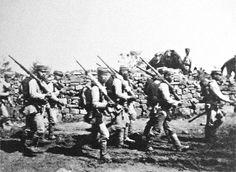 Japanese Soldiers near Chemulpo, Korea