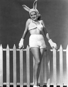 vintage bunny #BunnyEaredArmy
