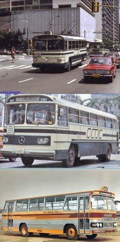 Ônibus de São Paulo, anos 70