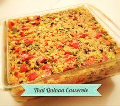 Dairy-free Thai Quinoa Casserole
