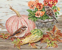 Lang - October   2015 Wallpaper | Birds In The Garden