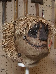 Mask of The Scarecrow. The Scarecrow of Romey Marsh & his Nocturnal Band of Horrifying Scarecrows Halloween Party Decorations & Ideas. Scary Halloween Decorations, Scary Halloween Costumes, Diy Halloween Decorations, Halloween Masks, Holidays Halloween, Halloween 2018, Halloween Stuff, Halloween Makeup, Scarecrow Mask