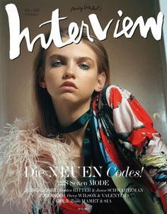 Molly Bair for Interview Germany - Interview Germany March 2016 Covers
