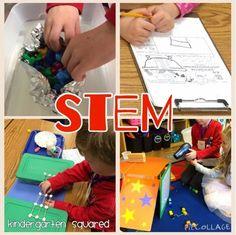 Kindergarten Squared: STEM Day!