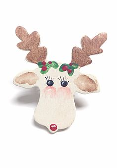 Reindeer ring Christmas ring holiday ring deer ring by PokeysWorld
