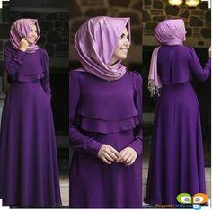 How You Can Make Perfect Combination of Hijab and Abaya Girls Hijab Style & Tesettür Tunik Modelleri 2020 Muslim Dress, Hijab Dress, Dress Up, Abaya Fashion, Modest Fashion, Fashion Dresses, Trendy Fashion, Moslem Fashion, Mode Abaya