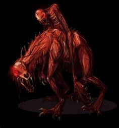 The Nuckelavee's poisonous breath would destroy cops.  Nuckelavee doesn't like running water, so crossing a stream would deter him from chasing.