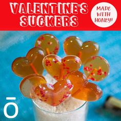 Valentine's Day is just around the corner. Celebrate by giving a sweet treat to the sweet people in your life! These honey suckers have a delicious rich flavor and can be paired with any of your favorite edible doTERRA essential oils.