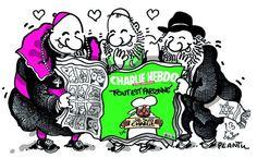 Drawing from Plantu in Le Monde (jan 13, 2015)