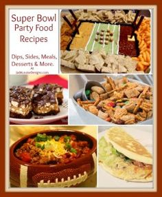 Post image for Super Bowl Food Ideas, Make your Super bowl party a hit! #SB47