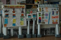 proyecto de trabajo en una clase de 5 años del colegio Pedro I Barbastro: La plaza del mercado