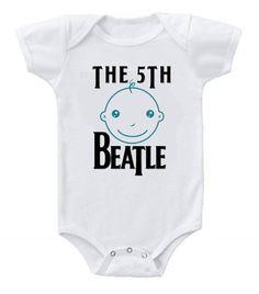 Funny Humor Custom Baby Onesie The Beatles The 5th Beatle #babyshower #babybump #babygirl #baby #babygirls #mom #gerber #fashion #fashionista #clothing #clothes #kidsfashion #kids #babies #ootd #fasionblog #newarrivals #newborn #sale #onesie #infants #infantclothes #style #shopping #cute #babies #babyclothes #clothing