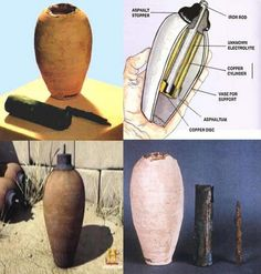"No one can really explain what ""The Baghdad Battery"" was actually used for (if…"