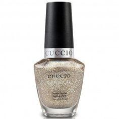 Cuccio Nail Polish - Cuppa 13ml - A stunning gold glitter nail colour