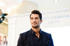 David Gandy in Singapore for Dolce & Gabbana Light Blue | SENATUS
