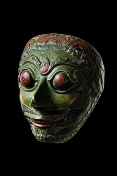 Indonesia - Java, theater mask