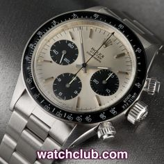 "Rolex Cosmograph Daytona Vintage - ""Sigma Dial"" REF: 6263 Rolex Daytona Watch, Rolex Cosmograph Daytona, Cool Watches, Rolex Watches, Vintage Rolex, Markers, Mens Fashion, Men's Watches, Clocks"