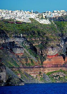Fira Cliffside - Santorini (Thira), Greece