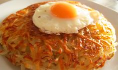 Felicity's perfect rösti. I dearly loved this dish when it was served high on a mountain in the Swiss Alps - let's see if I can reproduce it.