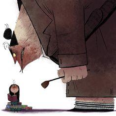 "Art of Nikolas Ilic: ""All Dahl'ed Up"""