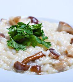 Risotto cu ciuperci | Nicolai Tand Risotto, Bon Appetit, Ethnic Recipes, Food, Essen, Meals, Yemek, Eten