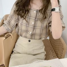 Korean Girl Fashion, Korean Fashion Trends, Ulzzang Fashion, Korean Street Fashion, Asian Fashion, Aesthetic Fashion, Aesthetic Clothes, Beige Aesthetic, Pretty Outfits