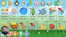 Andrea Cartotto - Giochi didattici per bambini dai 2 ai 10 anni, sicuri ... Linux, Google Classroom, Software, Dads, Coding, Kids Rugs, Autism, Tecnologia, Kid Friendly Rugs