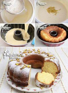 Limonlu Kek Tarifi Pasta Cake, Doughnuts, Collection, Fashion, Cooking Recipes, Cakes