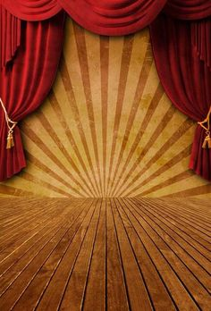 Red Curtain Stage Backdrops Vintage Brown Wood Panel Floor Digital Backgrounds for Photographers Children Kids Photo Booth Backdrop Stage Background, Background Vintage, Circus Background, Photography Backdrops, Aerial Photography, Circus Photography, Photography Tattoos, Photography Degree, Indoor Photography