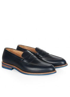 TRICKERS X HARDY AMIES ROBERT LEATHER LOAFERS