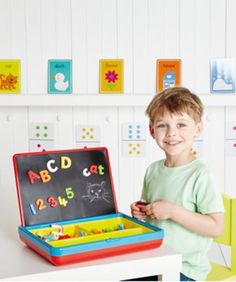 Shop Early Learning Centre Magnetic Playcentre - Red at Early Learning Centre. Learning Centers, Early Learning, Elc Toys, Science Toys, Christmas Toys, Christmas 2017, Toys Shop, Educational Toys, Cool Toys