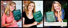 "senior portraits graduate commencement graduation clever chalkboard ""high school"" college coed"